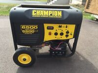 Generator, 6500 Watts