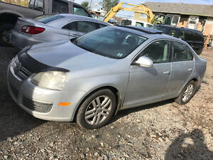 2006 Volkswagen TDI JETTA ,5SPD LOADED WORKS LIKE NEW 2995$