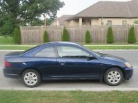 2003 Honda Civic EX Coupe (2 door)
