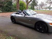 2004 BMW Z4 2.2i SE Roadster 1former keeper,fsh,leather £3395*audi tt slk