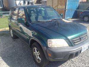 2000 CR-V SELLING AS-IS