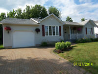 Bungalow with Attached Garage - 207 Shannon Drive - Moncton
