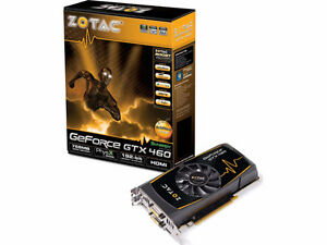 Video Card - Zotac GTX460 Synergy Ed. 768MB 192bit DDR5