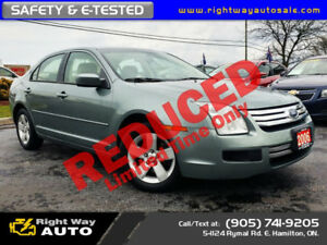 2006 Ford Fusion SE | 157Km | SAFETY & E-TESTED