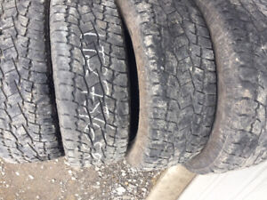 4x LT 275/65R20 10ply Toyo Open Country A/T2