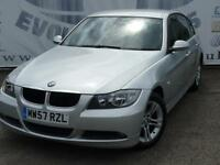 2008 BMW 3 SERIES 320D SE DIESEL AUTOMATIC SERVICE HISTORY LAST AT 62K KENWOOD T
