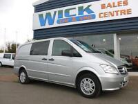 2013 Mercedes-Benz VITO 113 CDI DUALINER LWB 130ps COMBI Van Manual Crew Van