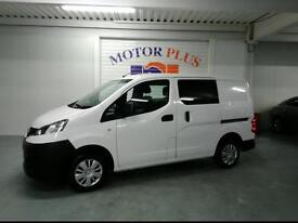 2014 NISSAN NV200 DCI ACENTA WITH SEAT COVERSION DIESEL