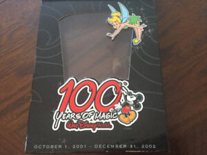 100 YEARS OF MAGIC COLLECTABLE PIN SET