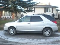 2007 Buick Rendezvous silver SUV, Crossover