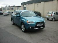 2011 Mitsubishi ASX 1.8TD 3 Finance Available