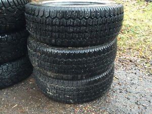 3 - Uniroyal Tiger Paw Studded Winter and 1 - Michelin XW4 Tire