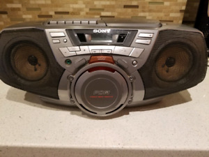 SONY CFD-G30 Boombox