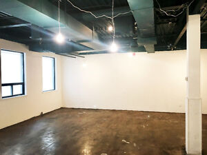 STUDIO SPACE AND PHOTOGRAPHY STUDIO FOR RENT