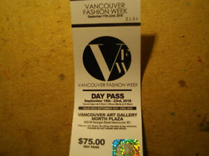 Hot Buy: Day Pass to Vancouver fashion week - $62 (Van., BC)