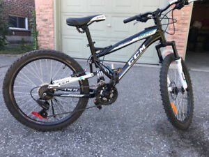 """CMM Static Bike 24"""" with Dual suspension - Like new"""