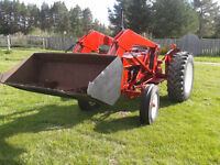 International 444 with loader for sale