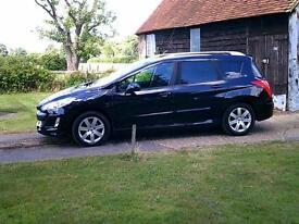2009 Peugeot 308 SW 1.6HDi FAP SE 7 seats