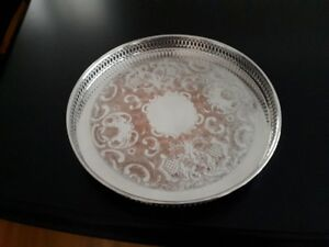 Serving Tray Silver Plated