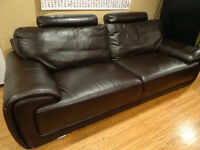 Dream leather couch for sale