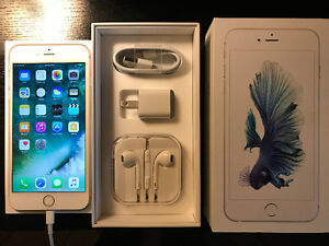 APPLE IPHONE 6S PLUS . 16GB SILVER . LIKE NEW CONDITION