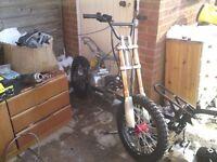 Wanted project dirt bike quad pitbike pit bike dirtbike