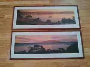 Australian Prints with Frames