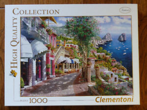 "Beautiful jigsaw puzzle ""Capri"" by Clementoni 1,000 pieces"