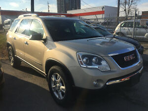 MINT CONDITION GMC ACADIA CERTIFIED AND E-TESTED! - 7 PASSENGER