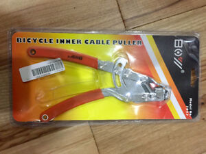 Mini bicycle pumps, inner cable puller