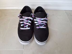 Vans Black & White Shoe Woman's Size 5