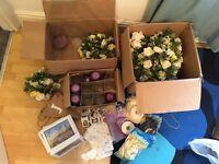 Huge box of wedding items