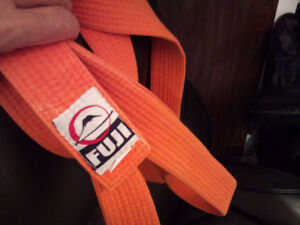 FUJI - 245 cm -  JUDO BELT - Orange