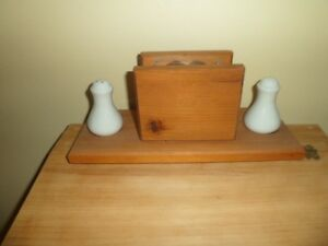 Wood napkin holder Kawartha Lakes Peterborough Area image 3