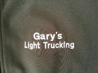 Gary's Light Trucking Services