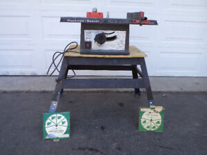 """Rockwell/Beaver Compact 8"""" Tablesaw."""