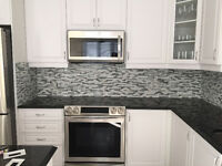 Kitchen Reno: Backsplash Tile Installation