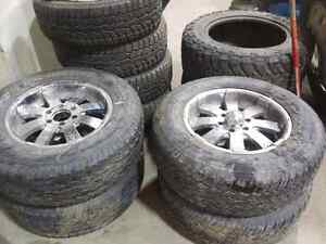 P275/65/18 Ford Rims with Rubber