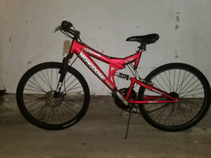 MONGOOSE BIKE WITH DISK BRAKES FOR SALE