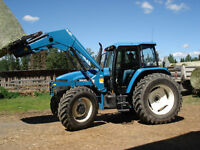8160 New Holland Tractor For Sale!!