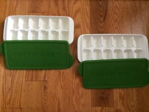 Baby Fresh Food Trays with Lids
