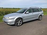 06 Jaguar X-TYPE 2.2D Sport Estate FSH Sat Nav Leather SOLD