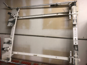 Ladder rack with locking handles ! Came off a transit connect