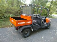 Kubota RTV 1140 CPX 4X4 side by side for sale