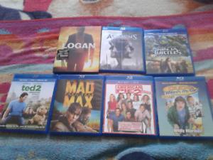 Films Blu-ray divers