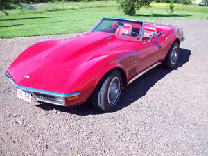 1971 Corvette 454 4 speed convertable