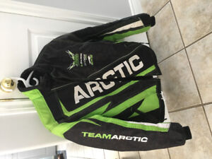 Arctic Cat Snow Suit size youth 16, fits like a men's small.