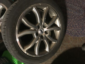 Ford Fusion 18 inch Rims & Tires