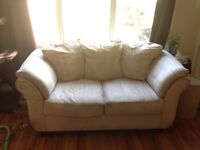 Microfibre couch and love seat