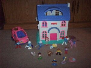 Fisher Price House and misc